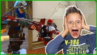 Son & Dad Fortnite DUOs Action