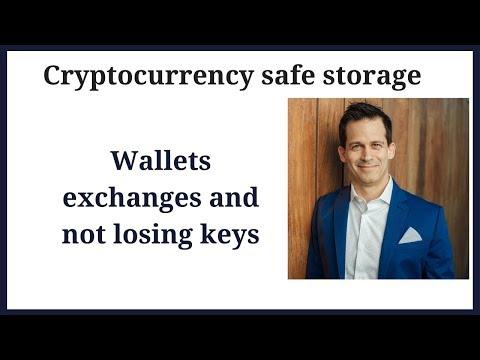 Cryptocurrency coin storage and wallet options