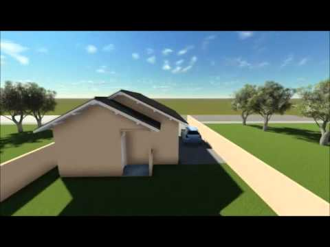 Plan De Maison Avec 3 Chambres à Coucher Code 132 Youtube