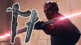 Every Lightsaber Wielded by Darth Maul