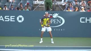 Juan Martin Del Potro 2009 US Open practice