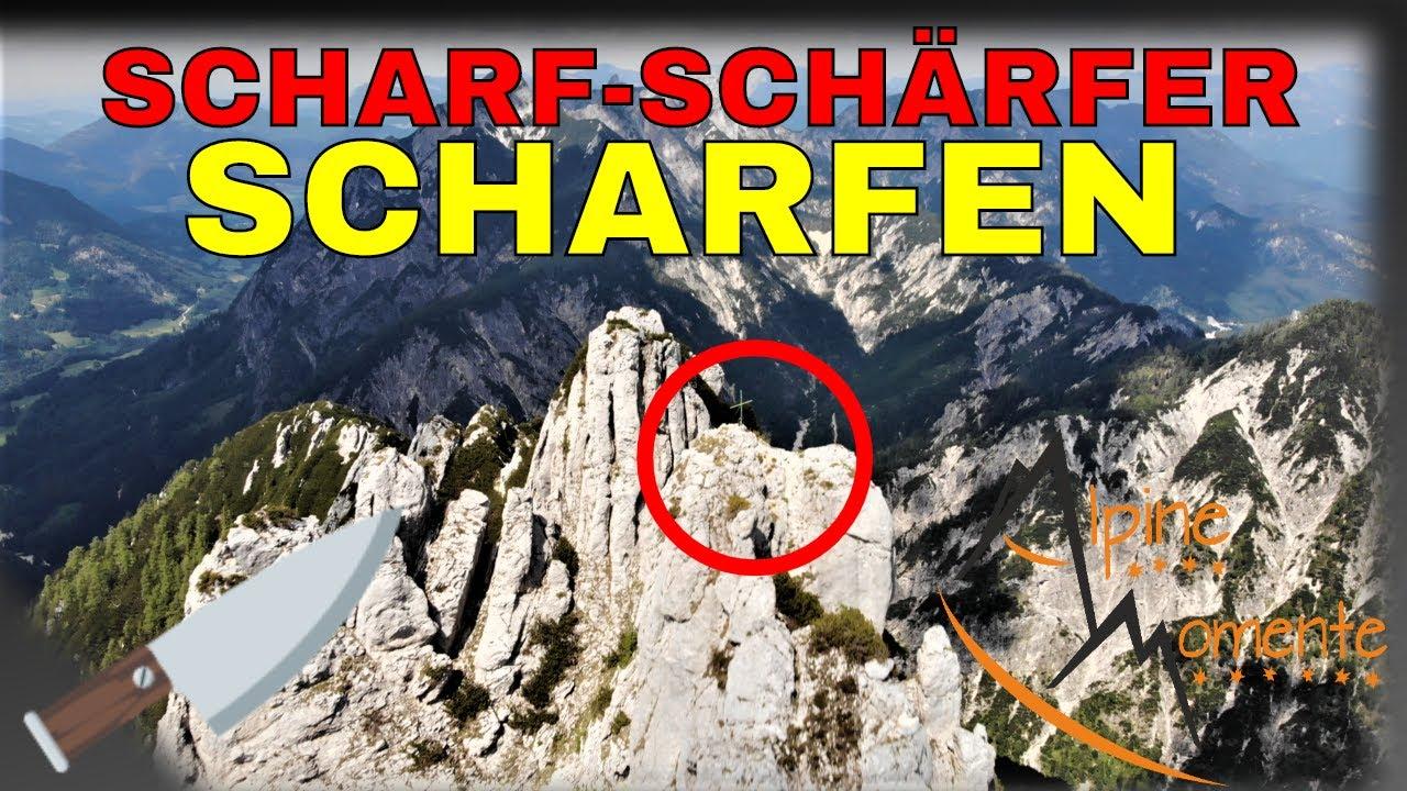 Großer Scharfen - Der schärfste Grat in den Salzkammergut Bergen? (UIAA 2+) | Alpine Momente