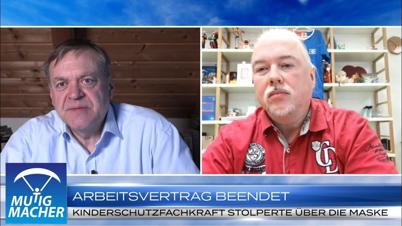 Wegen Maskenattest gefeuert – Marcel Evers im Interview bei Mutigmacher TV