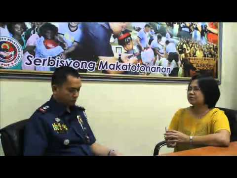 Police community partnership (interview by psupt celso l.bael with NGO)