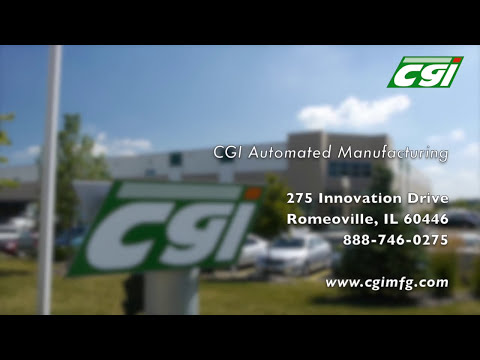 CGI Sheet Metal Fabrication Illinois