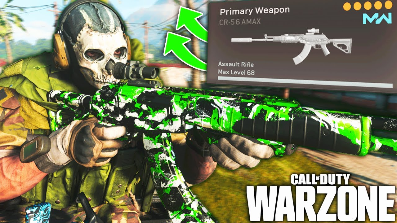 Download Call Of Duty WARZONE: The AMAX META Is Back In SEASON 6! (WARZONE Best Loadout)