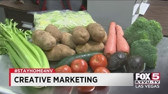 Restaurants, food suppliers in Las Vegas offer curbside grocery pickup