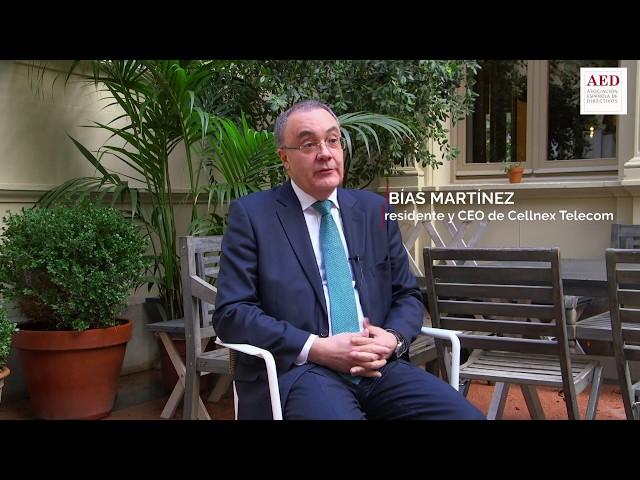#DiálogosAED con Tobías Martínez, presidente y CEO de Cellnex Telecom