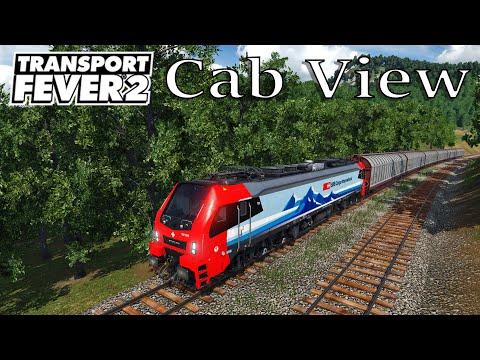Transport Fever 2 - Cab View / First Person View / EU 17 / Stadler Eurodual ''SBB'' |