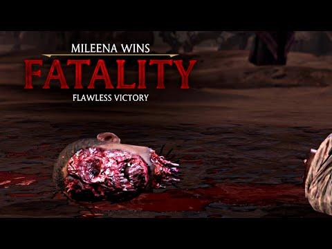 Mortal Kombat X Mileena Face Feast Fatality Hd 60fps Mkx