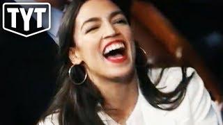 Alexandria Ocasio-Cortez One-Ups Conservative Scrub