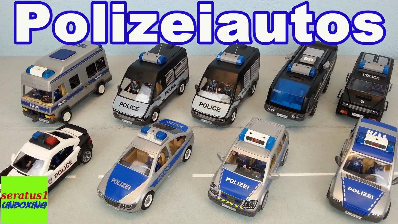 playmobil polizeiauto sammlung seratus1 unboxing
