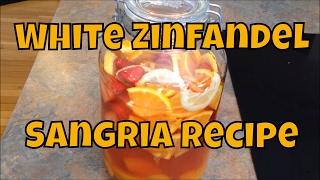 Refreshing White Zinfandel Sangria