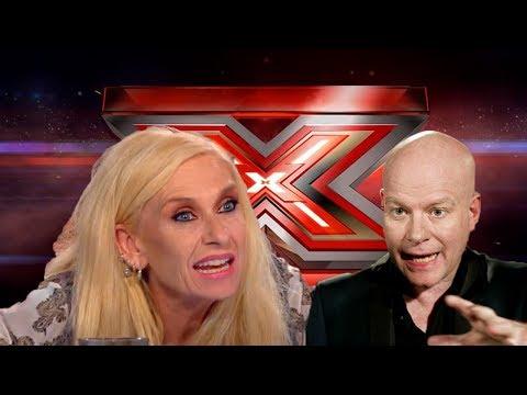 Sanne Salomonsen går amok!! X Factor 2017 Highlights