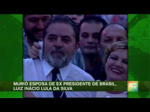 Murió esposa de ex presidente de Brasil, Luiz Inácio Lula da Silva