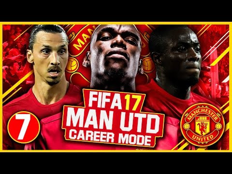 FIFA 17 Career Mode: Manchester United #7 - Manchester Derby (FIFA 17 Gameplay)