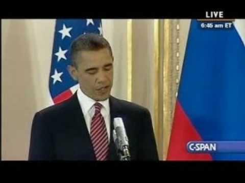 US Russia Prague (2) - Pr. Obama