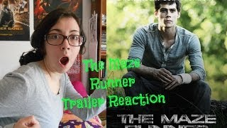 The Maze Runner Trailer Premiere Reaction