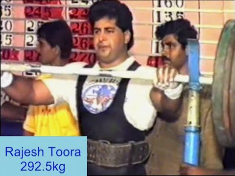 Rajesh Toora - National Powerlifting 1994 - MADRAS (Chennai)