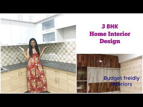 3BHK Home Interior Design in Noida | इंटीरियर डिज़ाइन3BHK/1405 sqft | Organizopedia