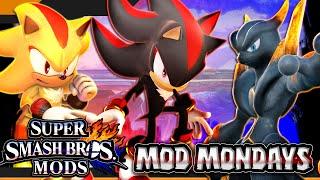 Super Smash Bros Wii U (Smash 4/SSB4) Mod Mondays - Shadow the Hedgehog Showcase
