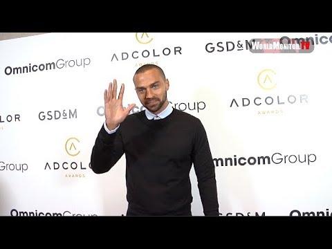 Jesse Williams, Aisha Tyler, Laz Alonso 2017 ADCOLOR Awards