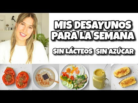 4 DESAYUNOS SALUDABLES Y FÁCILES I Sin Gluten + Combinación De Alimentos