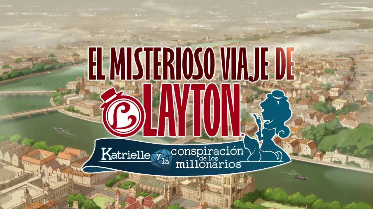 'EL MISTERIOSO VIAJE DE LAYTON™ Katrielle y la conspiración de los millonarios'