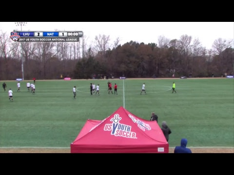 2017 National League - 18U Boys - Field 1 - 10am - LVU vs. National Union 00