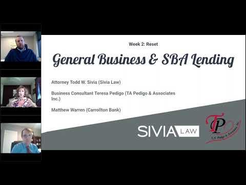 General Business and SBA Lending - Matthew Warren, Carrollton Bank