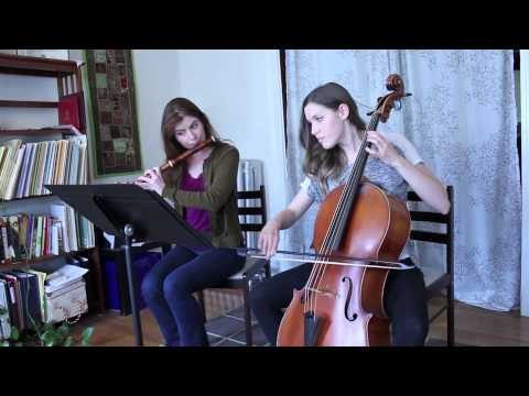 About Baroque Flute/Traverso & Handel - Flute Sonata, no.5, op.1 in G major, HWV 363b, Bourée—Minuet