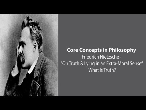 Friedrich Nietzsche, What Is Truth?  - Philosophy Core Concepts