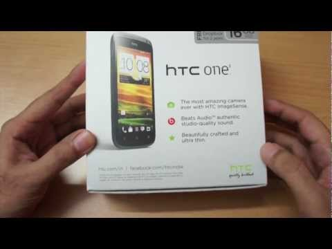 HTC One S Unboxing, Overview & first boot