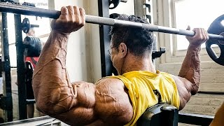 2015 MR.OLYMPIA D-2 Shoulder workout (KYUNG WON KANG)