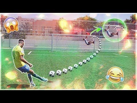 אתגר המטרות החיות בכדורגל! (קשה מאוד)