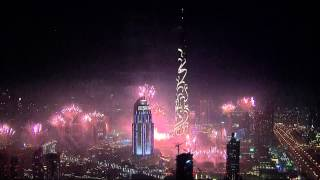 Dubai New Year's Fireworks 2015 HD 1080p