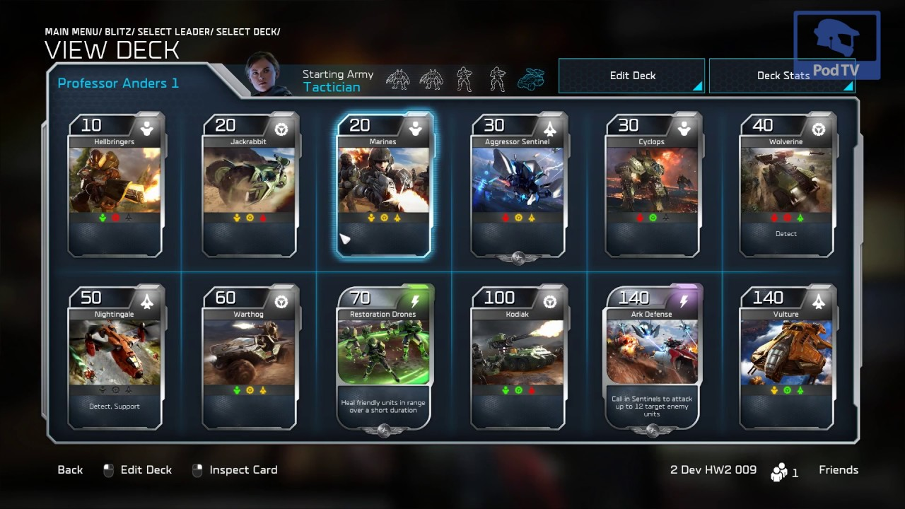 how to get more build slots in halo wars 2