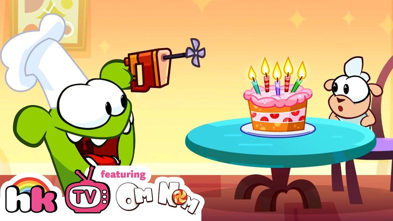 Om Nom Stories: CRAZY MIXER | Funny Cartoons For Kids | HooplaKidz TV