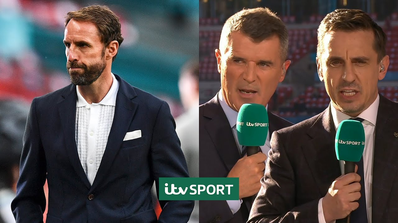 Ian Wright Roy Keane & Gary Neville speak glowingly of Gareth Southgate   ITV Sport