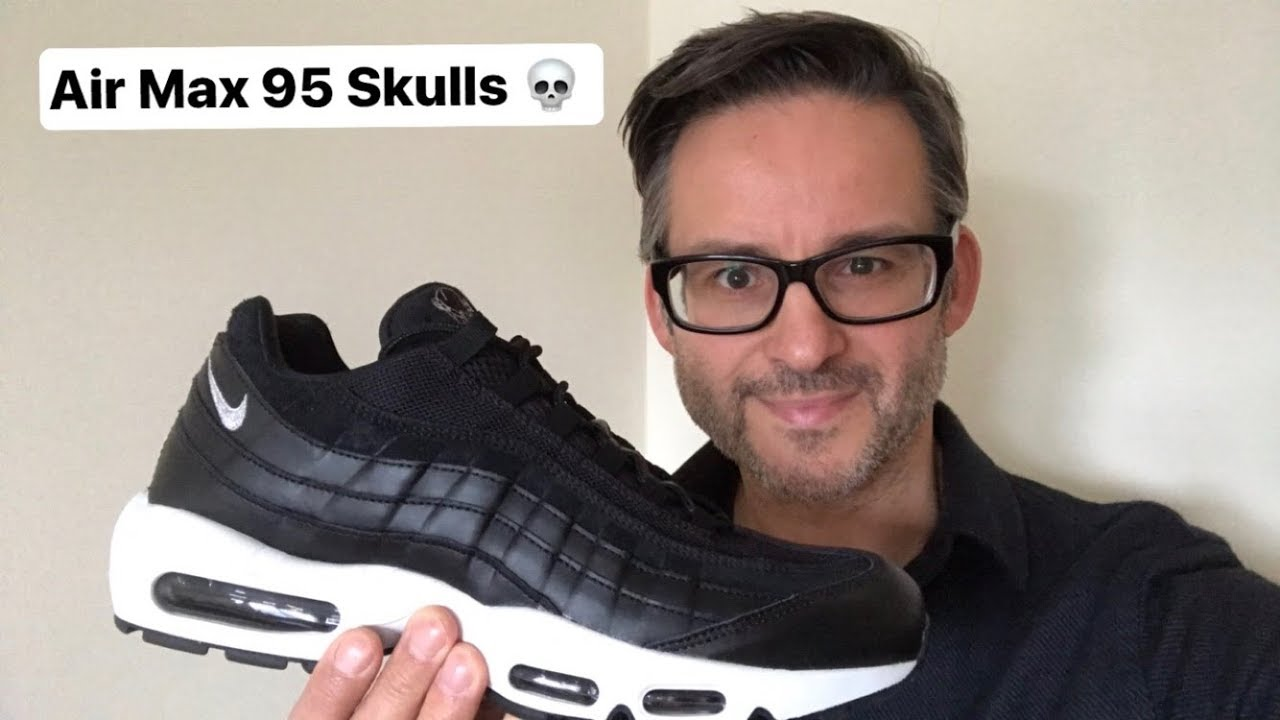 fedc7f1b9c0f0 Nike Air Max 95 Premium - Rebel Skulls Review + On Foot - YouTube
