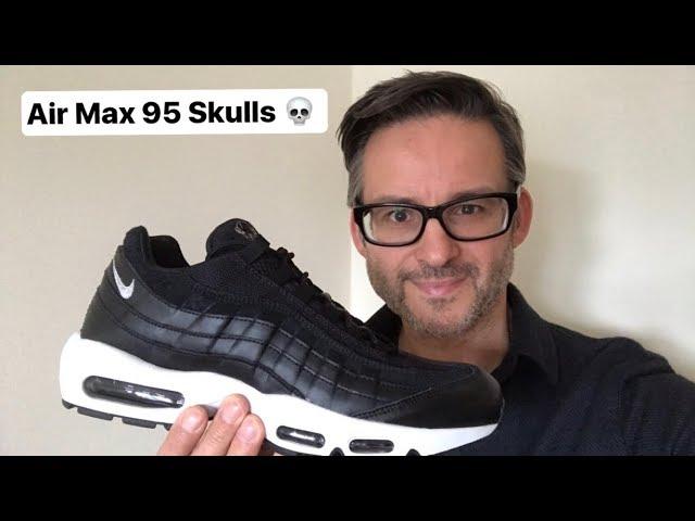 air max 95 skull
