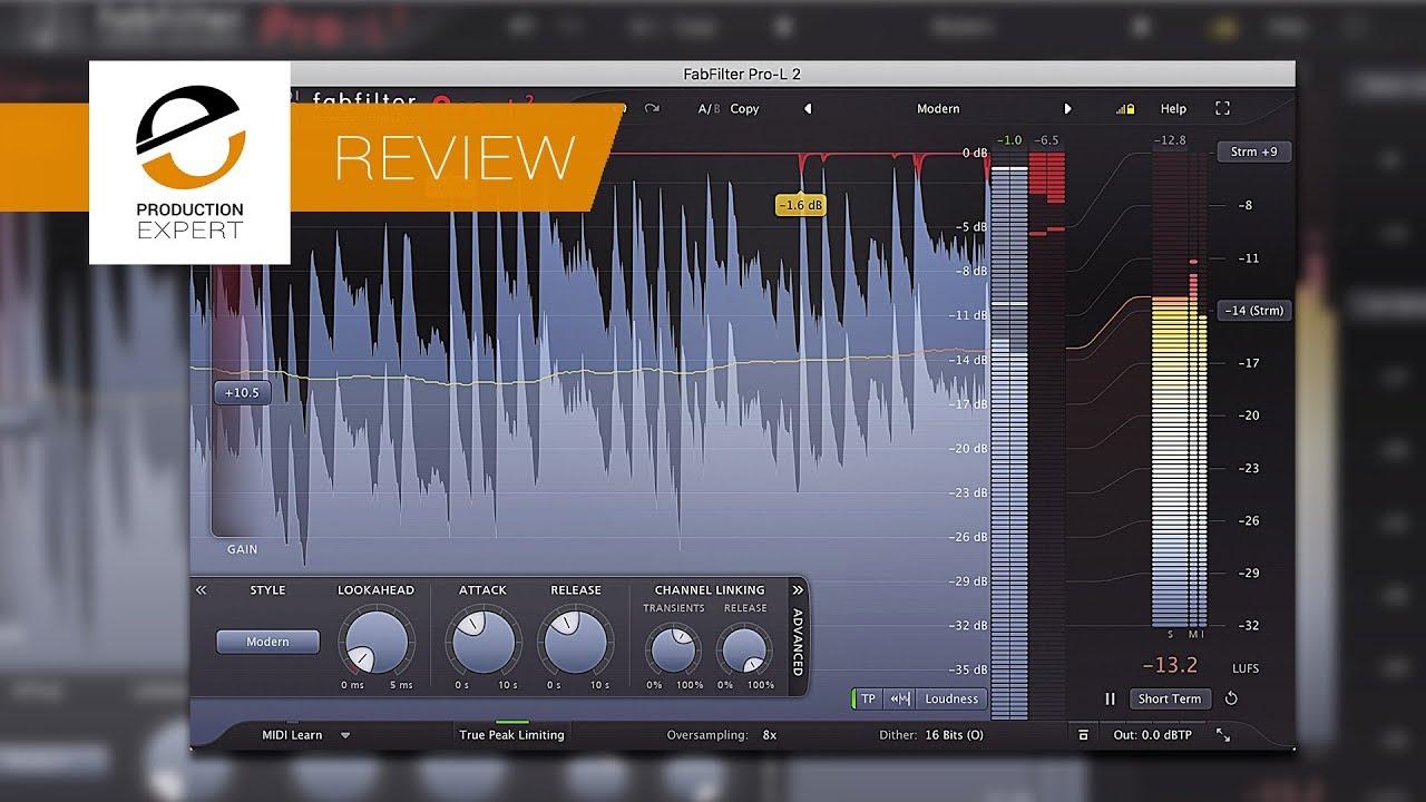 Review - FabFilter Pro-L 2 True Peak Limiter Plug-in