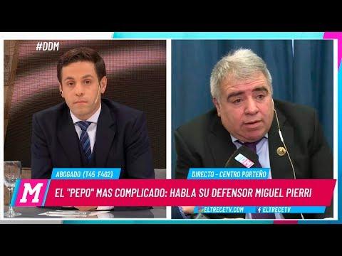 Habló Miguel Ángel Pierri, abogado defensor del Pepo, dio detalles de la causa