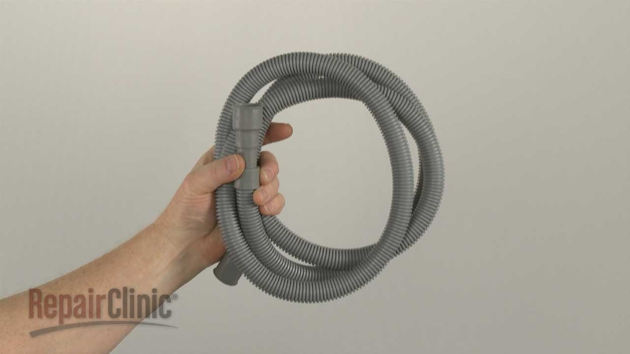 & Samsung Dishwasher Drain Hose Replacement #DD67-00059A - YouTube