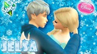 ¡¡Jack Frost conoce a Elsa!! | LOS SIMS 4 - DISNEY #16
