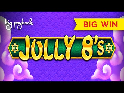 Jolly 8's Slot - BIG WIN BONUS - $6 MAX BET!