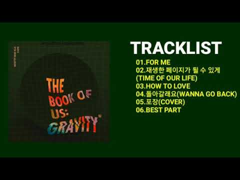 [FULL ALBUM] DAY6(데이식스)|THE BOOK OF US:GRAVITY 5TH MINI ALBUM