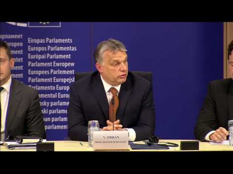Press conference by Viktor Orbán and others -  English - 26/04/2017