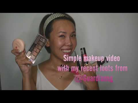 Make up video using loots from Guardian Pharmacy