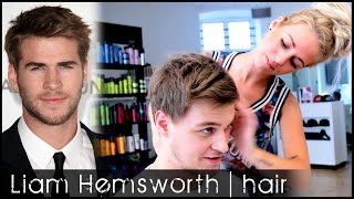 Liam Hemsworth Hair Tutorial | How To Style Hair Like The Famous Actor